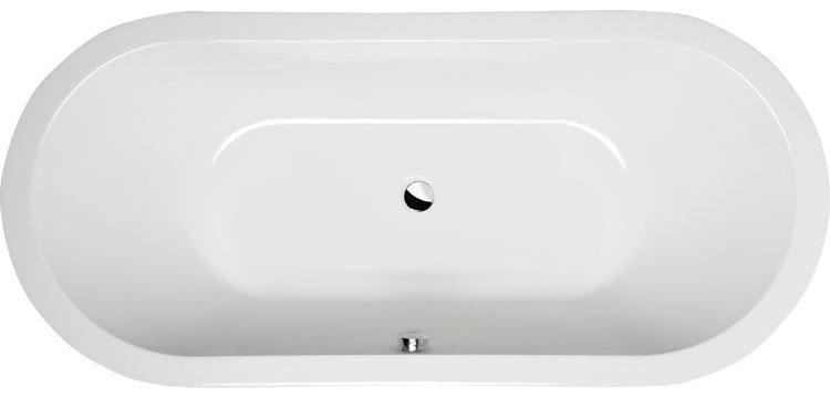 Mistral vasca ovale 165x75 - Vasche da bagno ovali ...
