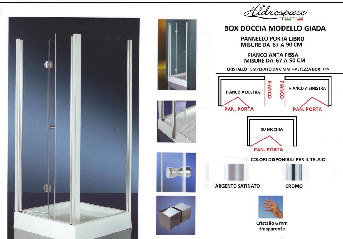 Giada box doccia soffietto - Cabine doccia a soffietto ...