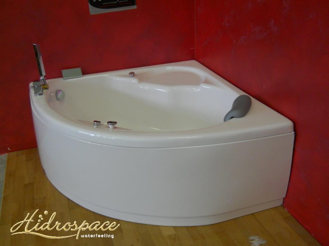 Vasca idromassaggio angolare ibis 120x120 130x130 - Gambe vasca da bagno ...