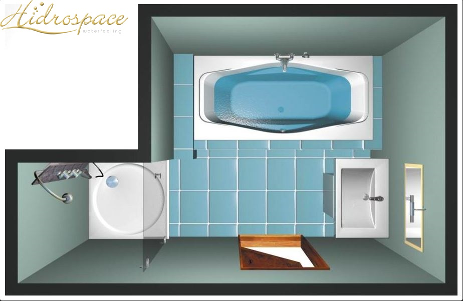 Vasche da bagno rettangolari vasche idromassaggio rettangolari - Vasche da bagno rotonde ...