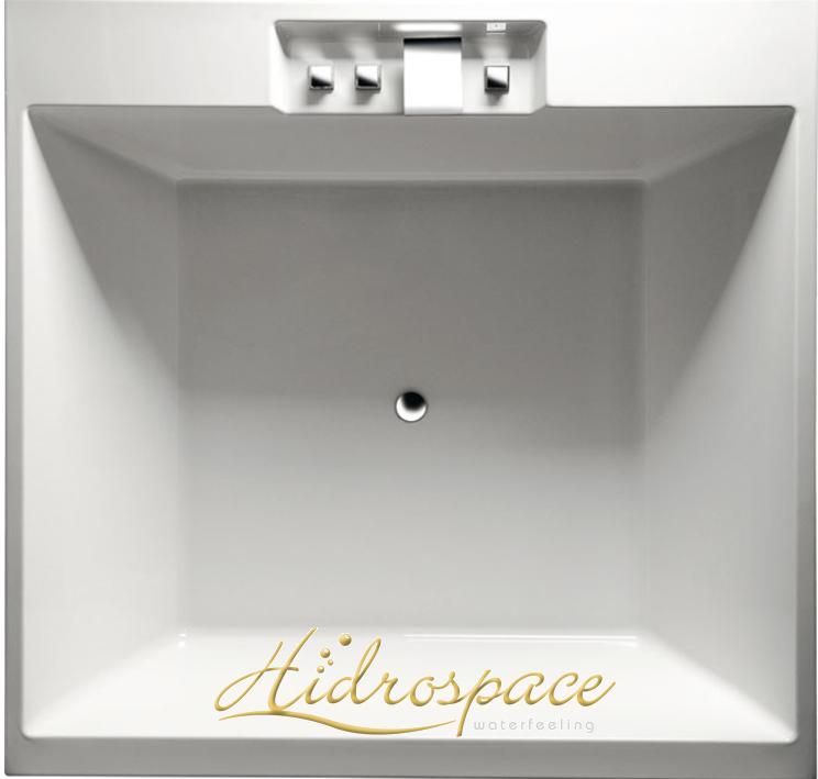 Queen vasca 175x175 grande formato for Vasche da bagno rotonde
