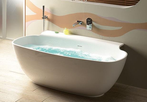 Red vasca minimal 158x82 cm h 60 cm - Vasche da bagno ovali ...