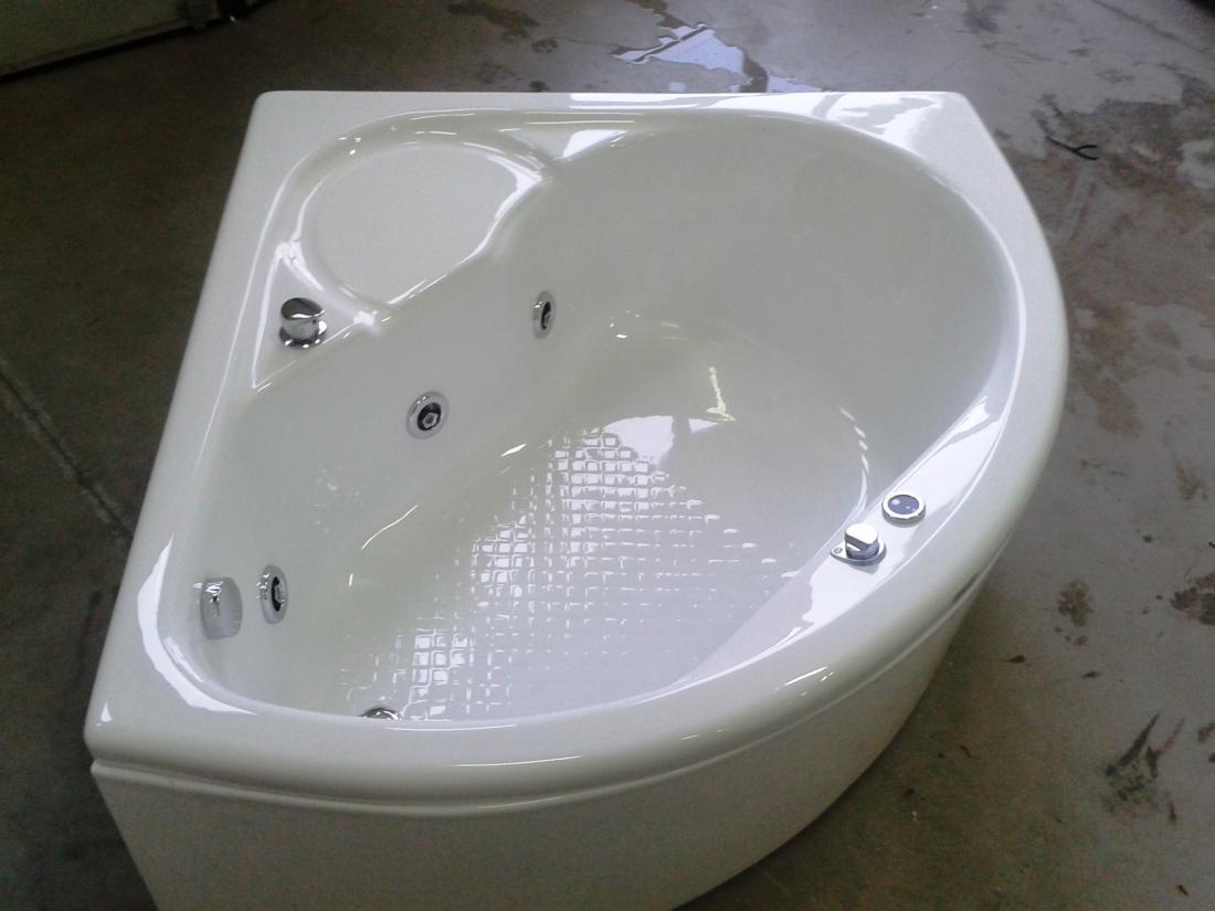 Supra angolare con seduta 120 cm - Vasche da bagno rotonde ...