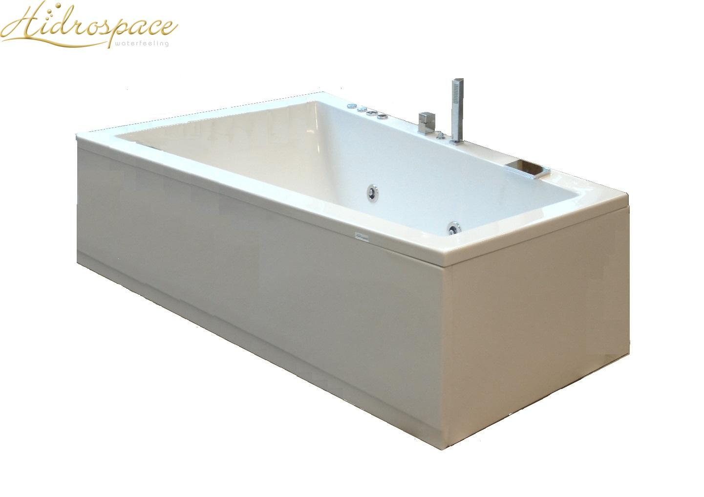 Trial 120x180 vasca da bagno asimmetrica - Gambe vasca da bagno ...