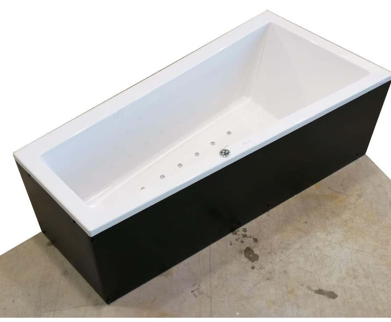 Trial 90x170 vasca da bagno asimmetrica for Vasca da bagno bricoman