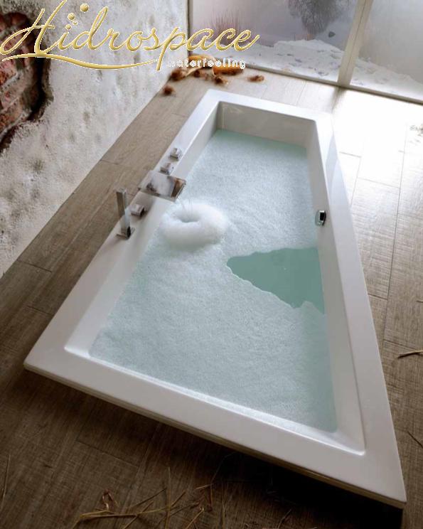 Trial 90x180 vasca da bagno asimmetrica - Vasche da bagno rotonde ...