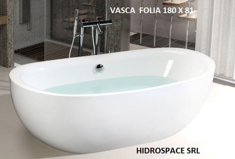 Folia vasca ad isola minimal 180x81 cm for Vasche da bagno rotonde