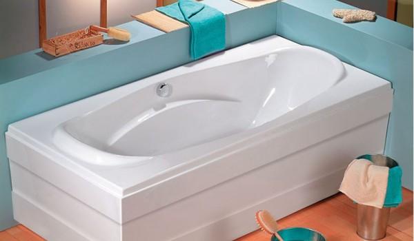 Vasche da bagno rettangolari vasche idromassaggio - Vasche da bagno ovali ...
