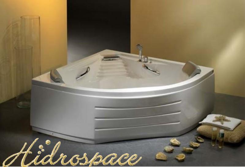 Niagara 130x130 vasca da bagno angolare for Dimensioni vasche da bagno angolari