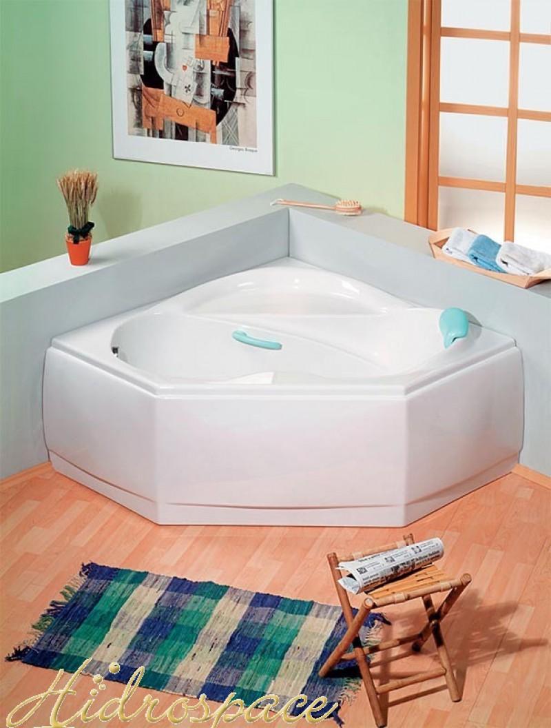 Zen 140x140 vasca da bagno angolare - Vasche da bagno rettangolari grandi ...