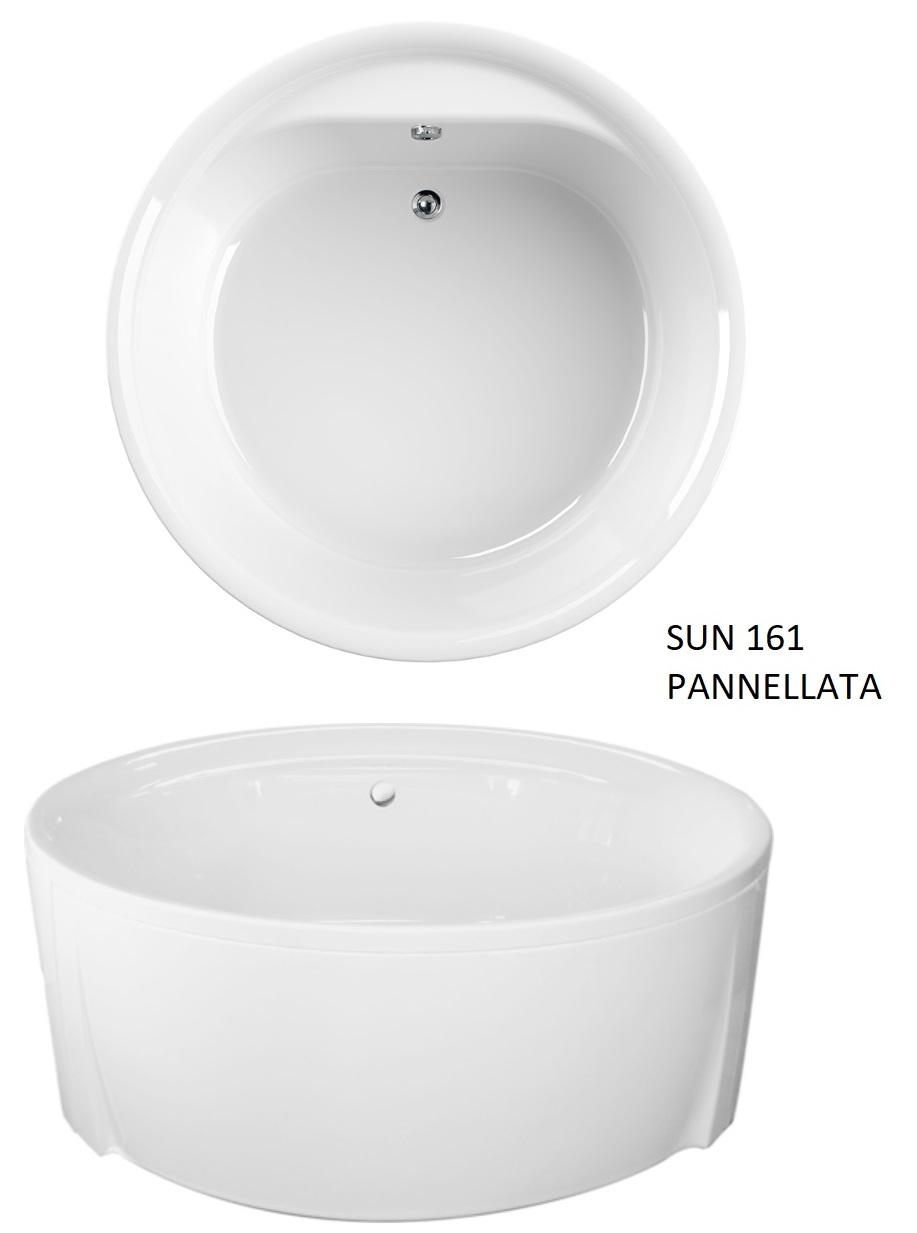 Vasca rotonda 160 pannellata - Vasche da bagno rotonde ...