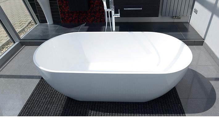 Vasca Da Bagno Freestanding 150 : Vasca da bagno indipendente standbadewanne acrilico jazz plus