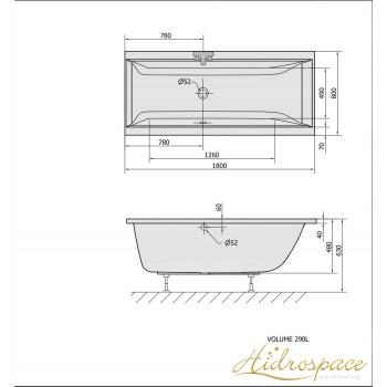 ALBATROS Duo  180 x 80  -  180 x 90