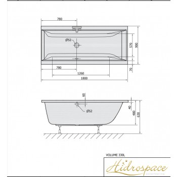 ALBATROS IDRO DUE POSTI 180x80-180x90