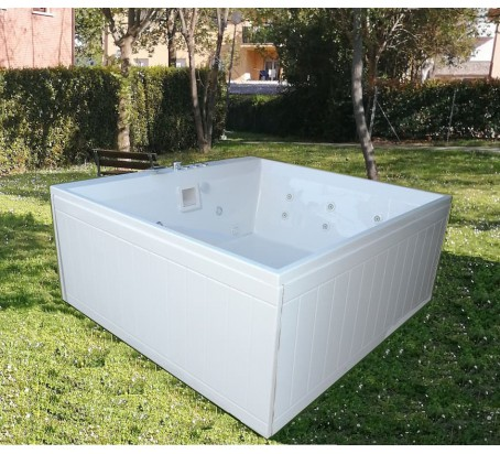 ANTIGUA 190 X 180 MINI PISCINA SPA IDROMASSAGGIO