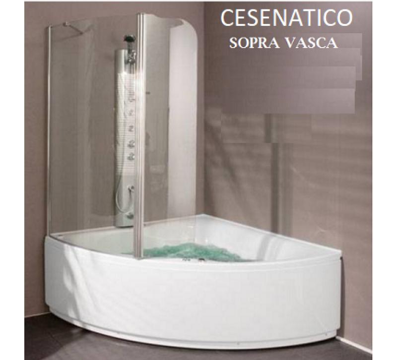 CESENATICO - BOX SOPRA VASCA AD ANGOLO