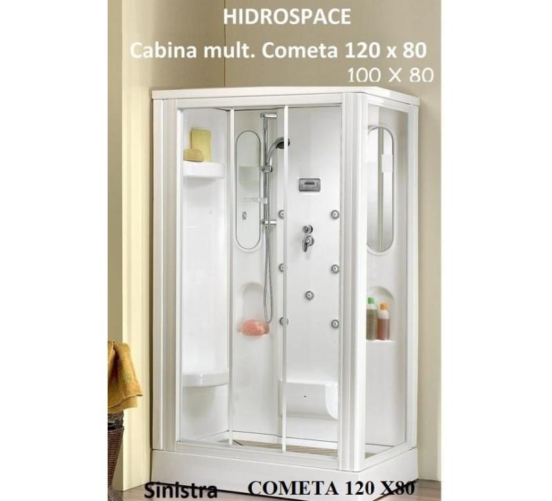 COMETA - CABINA DOCCIA MULTIF. 80x120 - 80X100
