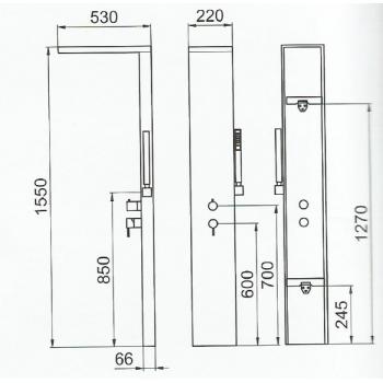 Doccia PN 500