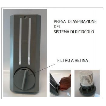 ELENA 190 X 170 MINIPISCINA VASCA IDROMASSAGGIO DA ESTERNO RETTANGOLARE