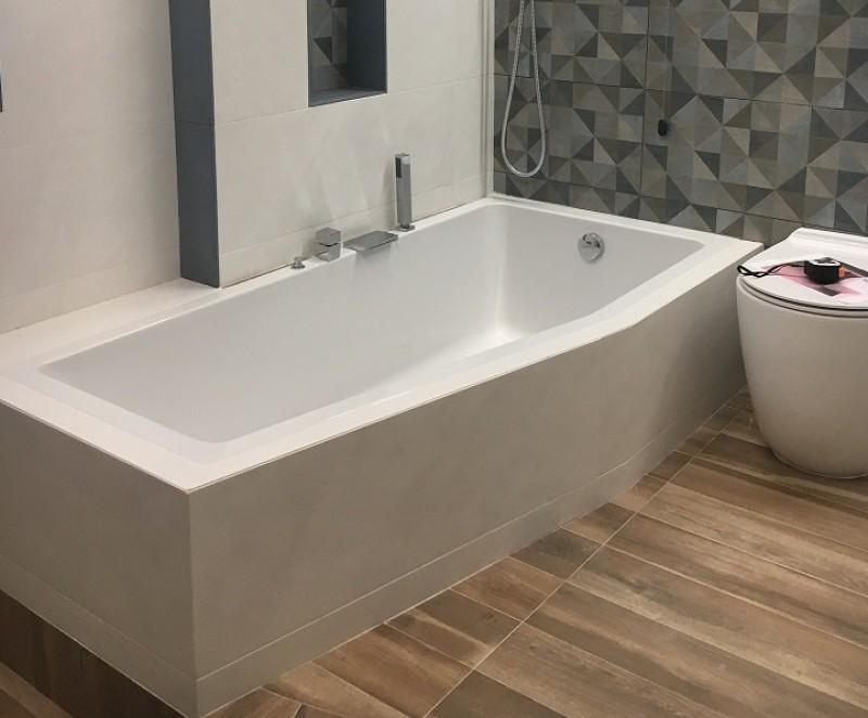 Vasca Da Bagno Incasso 170x80 : Emanuela 170 x 80 vasca doccia dx sx