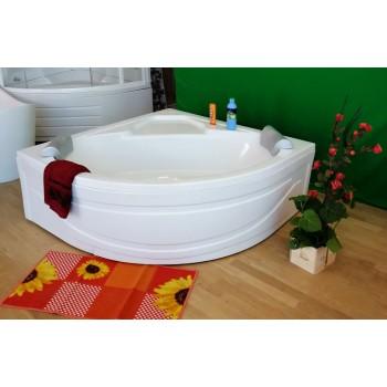 Foglia 15 x 150 - vasca da bagno angolare con seduta ...