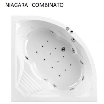 NIAGARA 140x140 VASCA IDROMASSAGGIO ANGOLARE