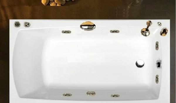 Vasca Da Bagno 120 70 Prezzi : Pratika vasca idromassaggio rettangolare