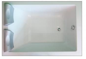 Pratika 90 130 140 150 X 90 Vasca Da Bagno Rettangolare Larghezza Cm 80