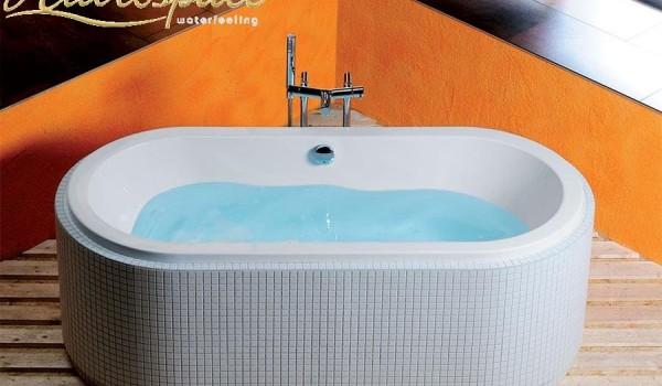 Sol 175 185x80 vasca da bagno ovale - Vasca da bagno ovale ...