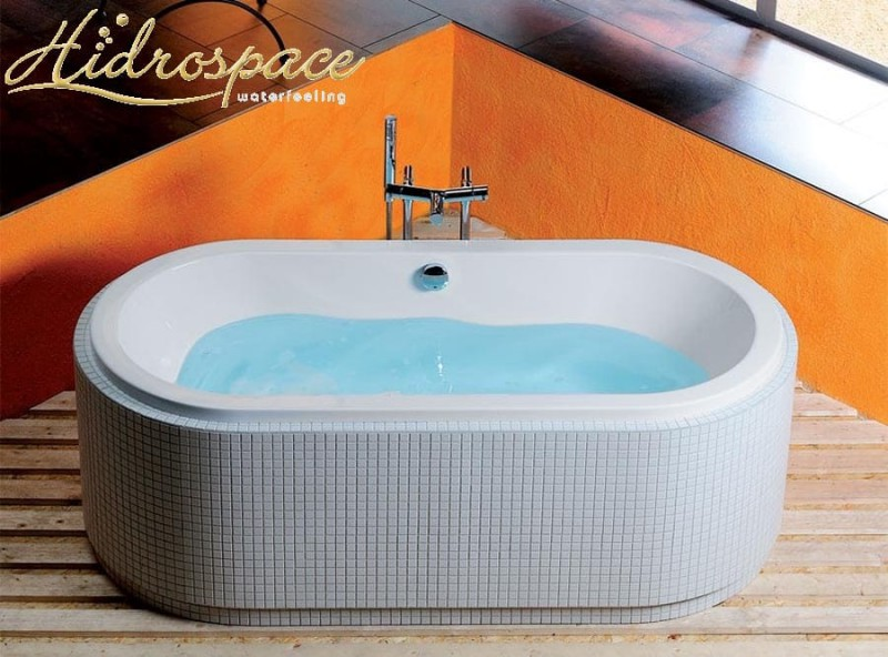 Sol 175 x 80 vasca idromassaggio ovale - Vasche da bagno ovali ...