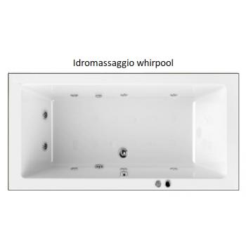 STYLE 180 X 70 VASCA IDROMASSAGGIO RETTANGOLARE