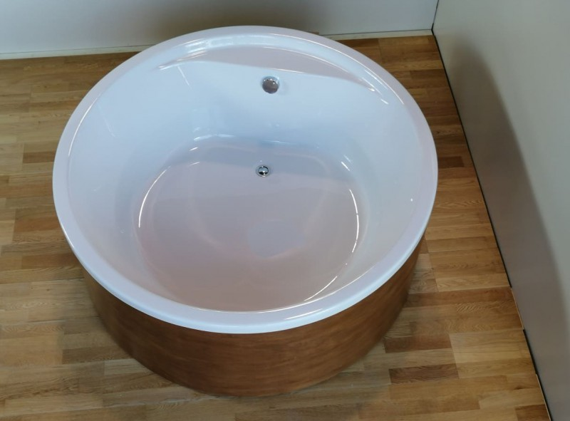 SUN 140- 150 -164 -172 Vasca da bagno rotonda