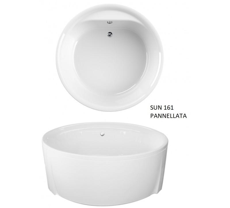 Vasca rotonda 160 pannellata - Vasca da bagno rotonda ...