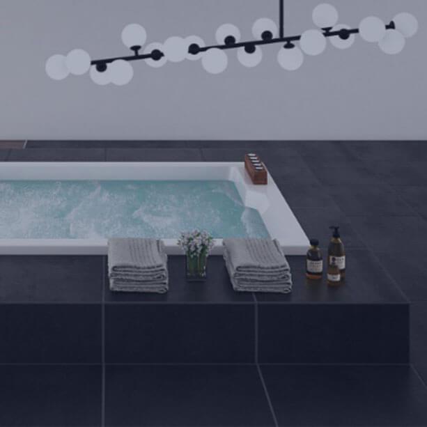 Vasche idromassaggio vasche da bagno idromassaggio - Vasche da bagno grandi ...